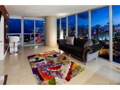 Miami Condo For Sale: 888 Biscayne Blvd #3101