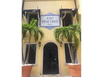 Miami Beach Condo For Sale: 4812 Pine Tree Dr #104