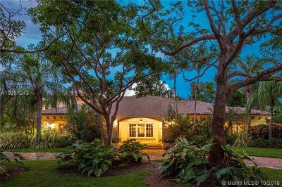 Pinecrest Single Family Home For Sale: 9601 SW 68 Ave
