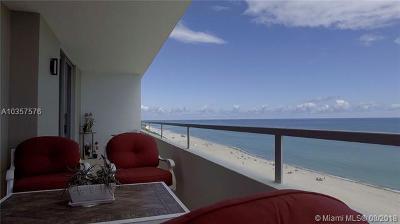 Oceanside Plaza, Oceanside Plaza Condo Condo For Sale: 5555 Collins Ave #12J