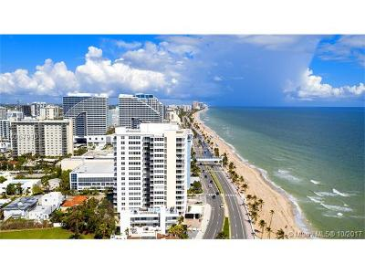 Fort Lauderdale Condo For Sale: 209 N Fort Lauderdale Beach Blvd #8F