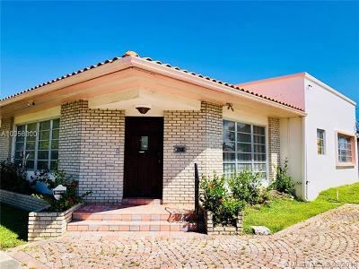 Miami Beach Single Family Home For Sale: 1260 Daytonia Rd