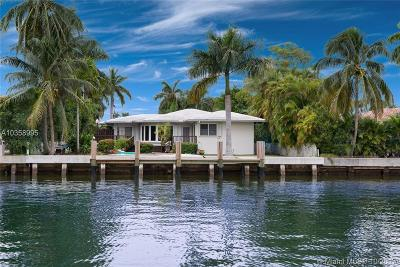 Bay Harbor Islands Single Family Home For Sale: 9501 E Broadview Dr