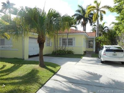 Miami Beach Single Family Home For Sale: 1561 Marseille Dr