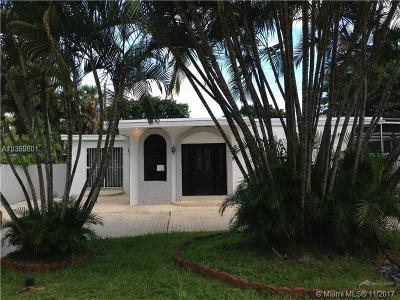 Sunny Isles Beach Single Family Home For Sale: 331 189th St