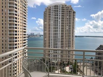 Miami Condo For Sale: 888 Brickell Key Dr #2407