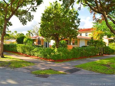 Coral Gables Single Family Home For Sale: 1114 Genoa St