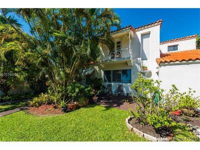 Miami Beach Single Family Home For Sale: 6312 Alton Rd