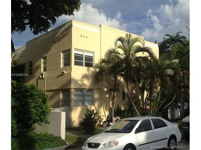 Miami Beach Multi Family Home For Sale: 1550 Meridian Avenue