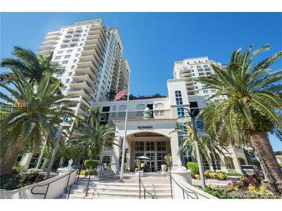 Fort Lauderdale Condo For Sale: 600 W Las Olas Blvd #1203 S