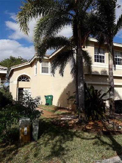 Miramar Single Family Home For Sale: 14821 SW 18th St
