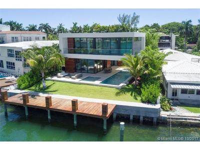 Miami Beach Single Family Home For Sale: 421 N Hibiscus Dr