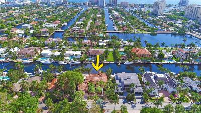 Fort Lauderdale Single Family Home For Sale: 42 Nurmi Dr