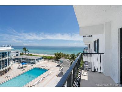 Miami Beach Condo For Sale: 5415 Collins Ave #605