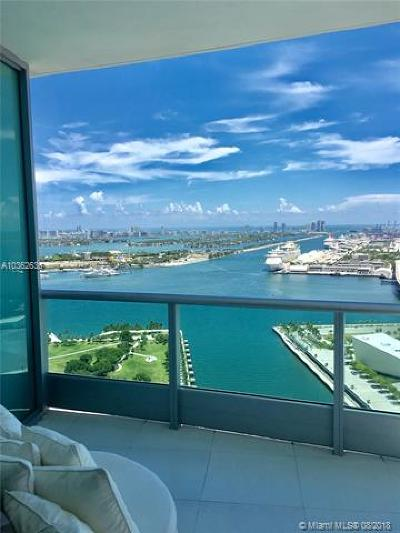 Condo For Sale: 900 Biscayne Blvd #3801