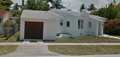 Miami Beach Single Family Home For Sale: 4717 Alton Rd