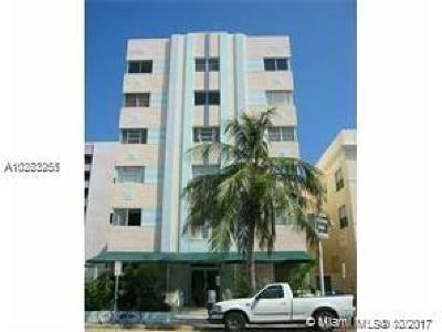 Miami Beach Condo For Sale: 3621 Collins Ave. #209