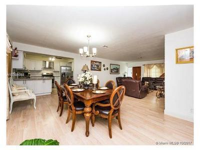 North Miami Single Family Home For Sale: 12995 NE 5th Ave