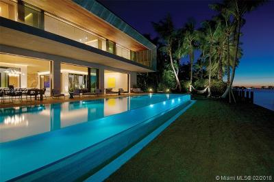 Bal Harbour FL Single Family Home For Sale: $33,000,000