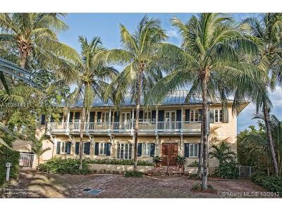 Key Biscayne Single Family Home For Sale: 685 Harbor Ln