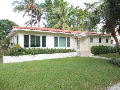 Miami Shores Single Family Home For Sale: 139 NE 96th St