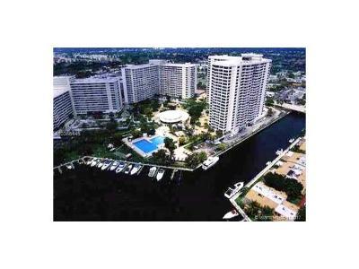 Hallandale Condo For Sale: 600 Three Islands Blvd #911