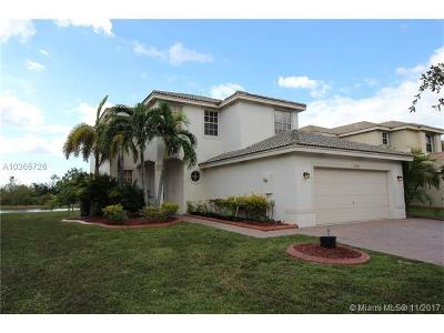Miramar Single Family Home For Sale: 2792 SW 165th Ave