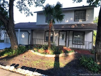 Plantation Single Family Home For Sale: 286 NW 79th Ave