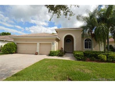 Pembroke Pines Single Family Home For Sale: 6306 SW 191st Ave