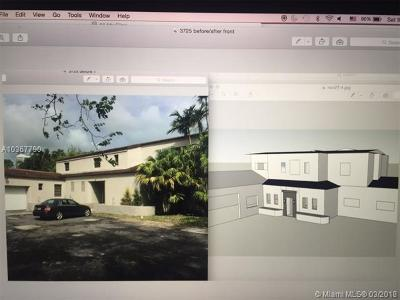 Miami Beach Single Family Home For Sale: 3725 Pine Tree Dr