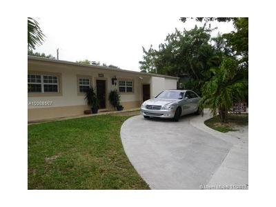 North Miami Single Family Home For Sale: 1910 Keystone Blvd