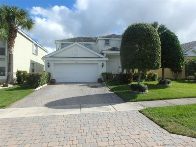 Royal Palm Beach Single Family Home For Sale: 142 Kensington Way