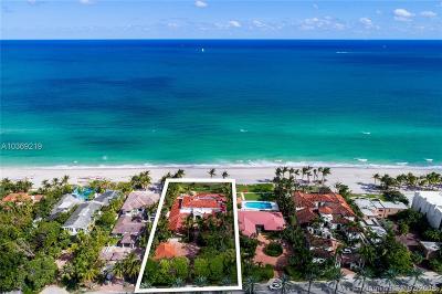Golden Beach Single Family Home For Sale: 655 Ocean Blvd