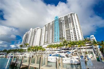 Miami Beach Condo For Sale: 1800 Sunset Harbour Dr #910