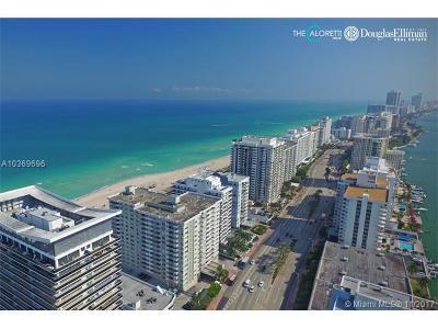 Miami Beach Condo For Sale: 5900 Collins Ave #PH1701