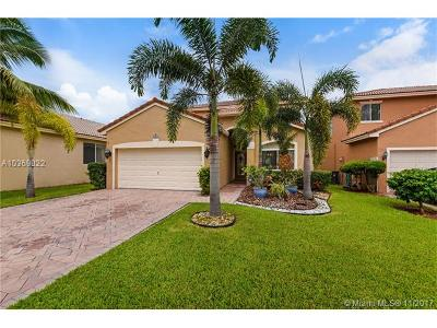 Coconut Creek Single Family Home For Sale: 5009 Pebblebrook Way