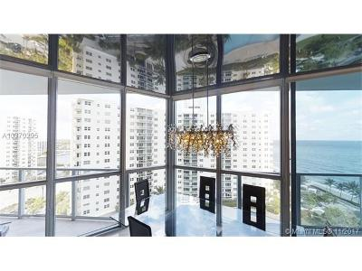 Hollywood Condo For Sale: 3101 S Ocean Dr #1005