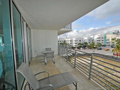 Miami Beach Condo For Sale: 1437 Collins Ave #316