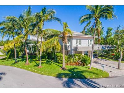 Key Biscayne Single Family Home For Sale: 283 Harbor Court