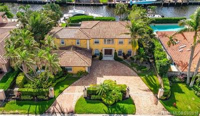 Fort Lauderdale Single Family Home For Sale: 16 Pelican Dr