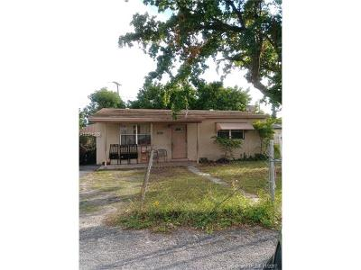 Fort Lauderdale Single Family Home For Sale: 3070 NW 17th Ct