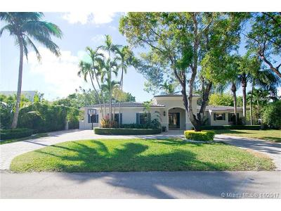South Miami Single Family Home For Sale: 7930 SW 58th Ct