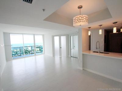 Miami Beach Condo For Sale: 650 West Ave #2906