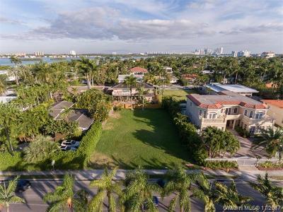 Bay Harbor Islands Single Family Home For Sale: 1361 96 Street