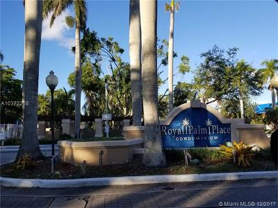 Kendall Condo For Sale: 10421 SW 157 Pl #303