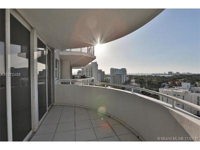Miami Beach Condo For Sale: 6301 Collins Ave #1207