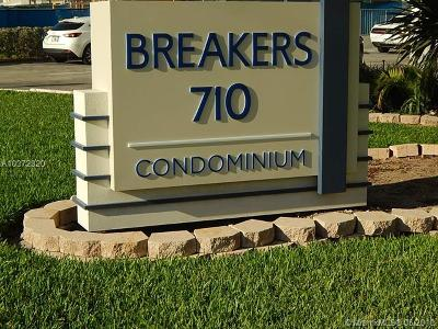 Pompano Beach Condo For Sale: 710 N Ocean Blvd #1001