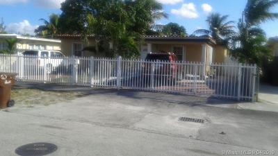 Hialeah Single Family Home For Sale: 1062 E 19th St
