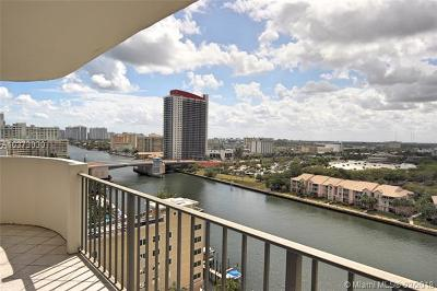 Hollywood Condo For Sale: 3800 S Ocean Dr #1406