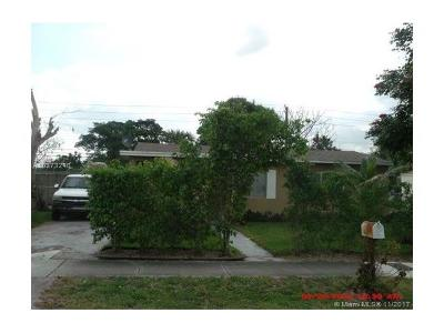 Fort Lauderdale Single Family Home For Sale: 470 NW 30th Ter